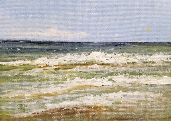 Atlantic Thursday PM Acrylic Painting