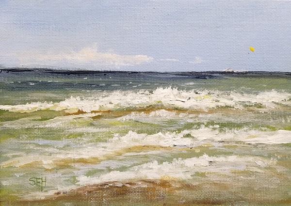 Atlantic Thursday PM Acrylic Painting