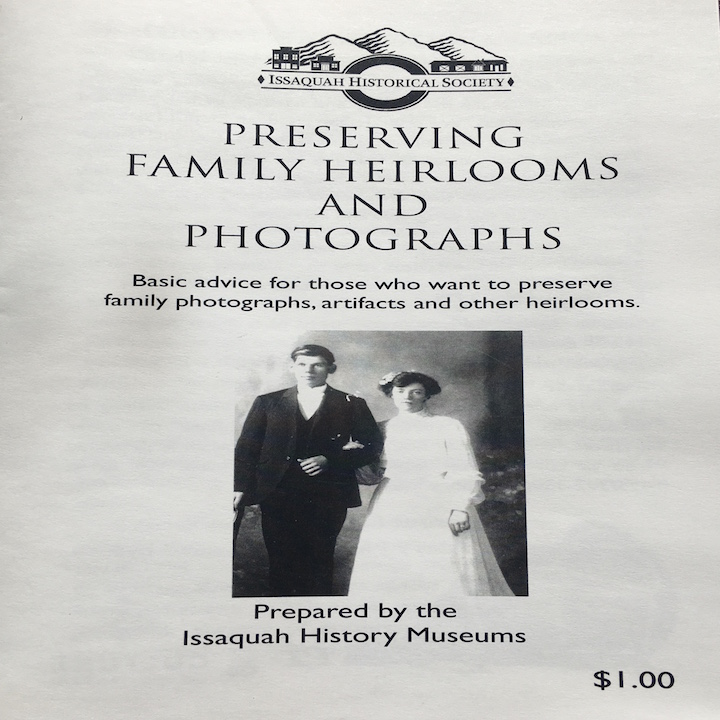 Preserving Family Heirlooms and Photographs