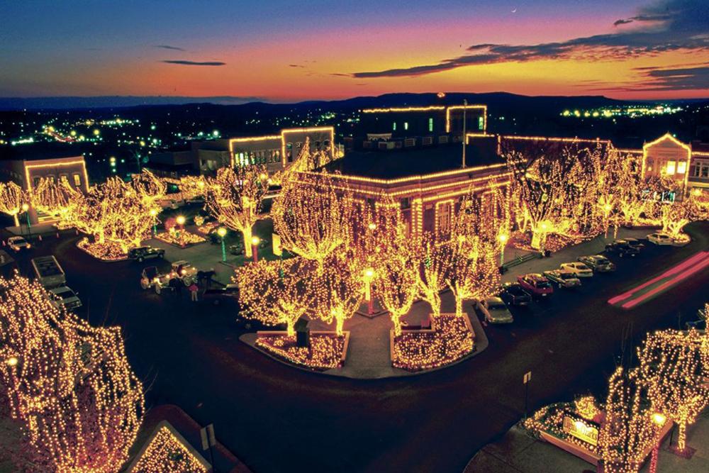 Clt Fayetteville Square Light Tour