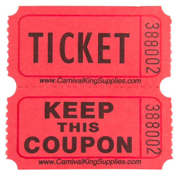 Raffle tickets now available now Online