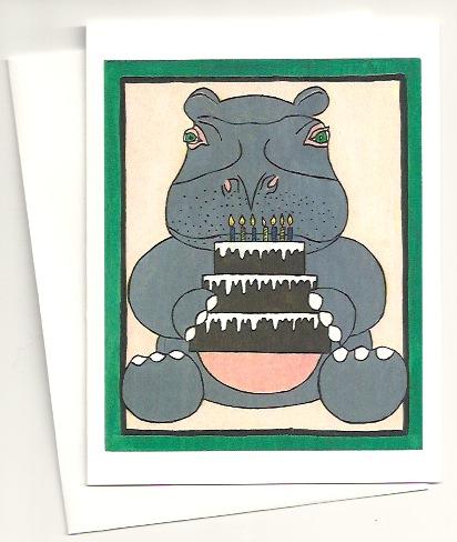 Hippo Birthday Cake Photos