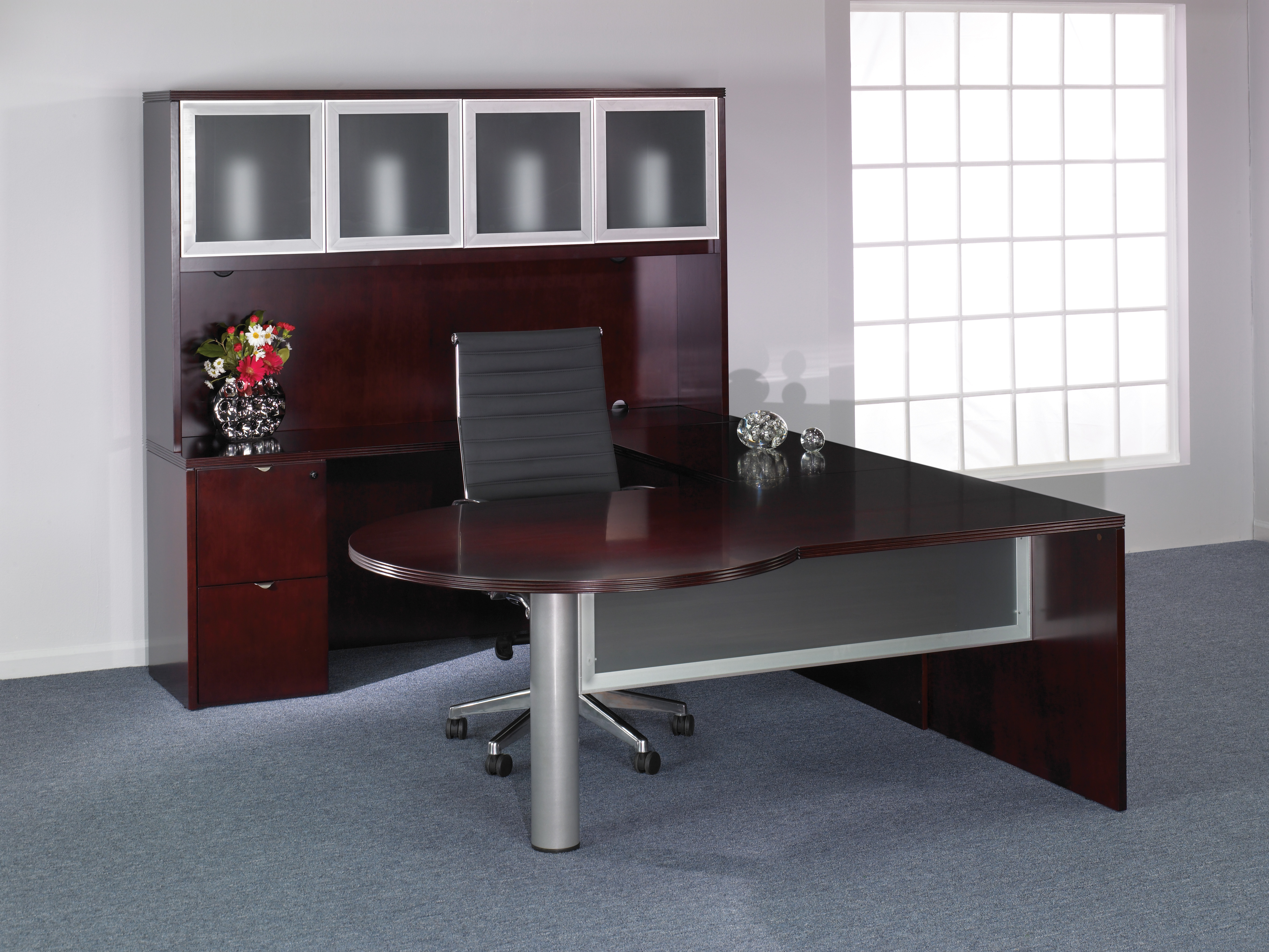 Kenwood Collection Ken L Mahagony on Modern Office Furniture