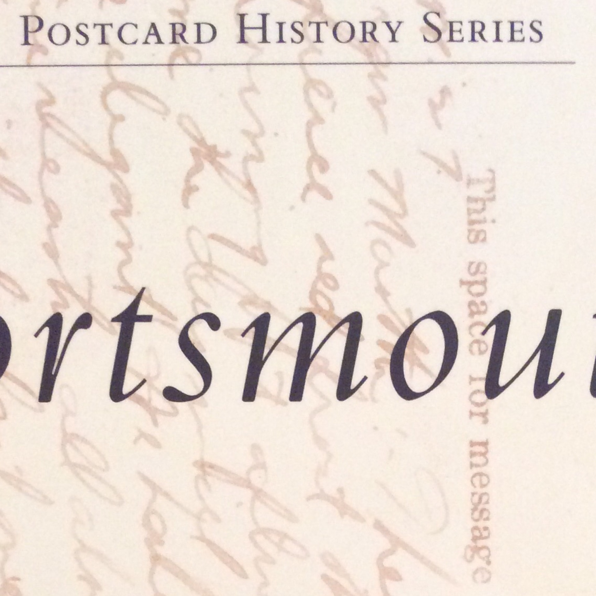 Postcard History Portsmouth