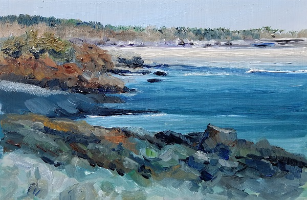 Marginal Waters Oil Painting