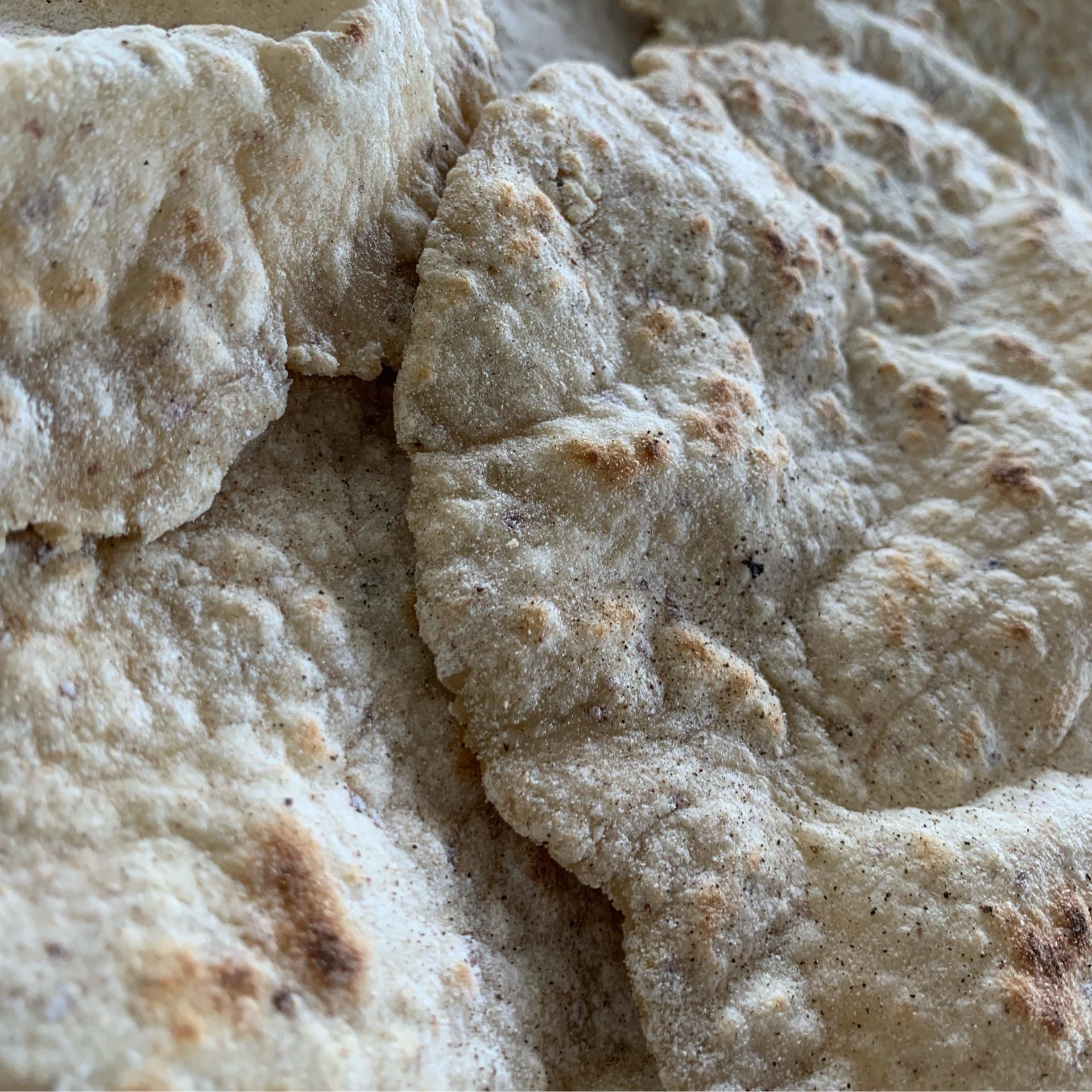 Gluten-free Flatbread [Vegan Soy-free]