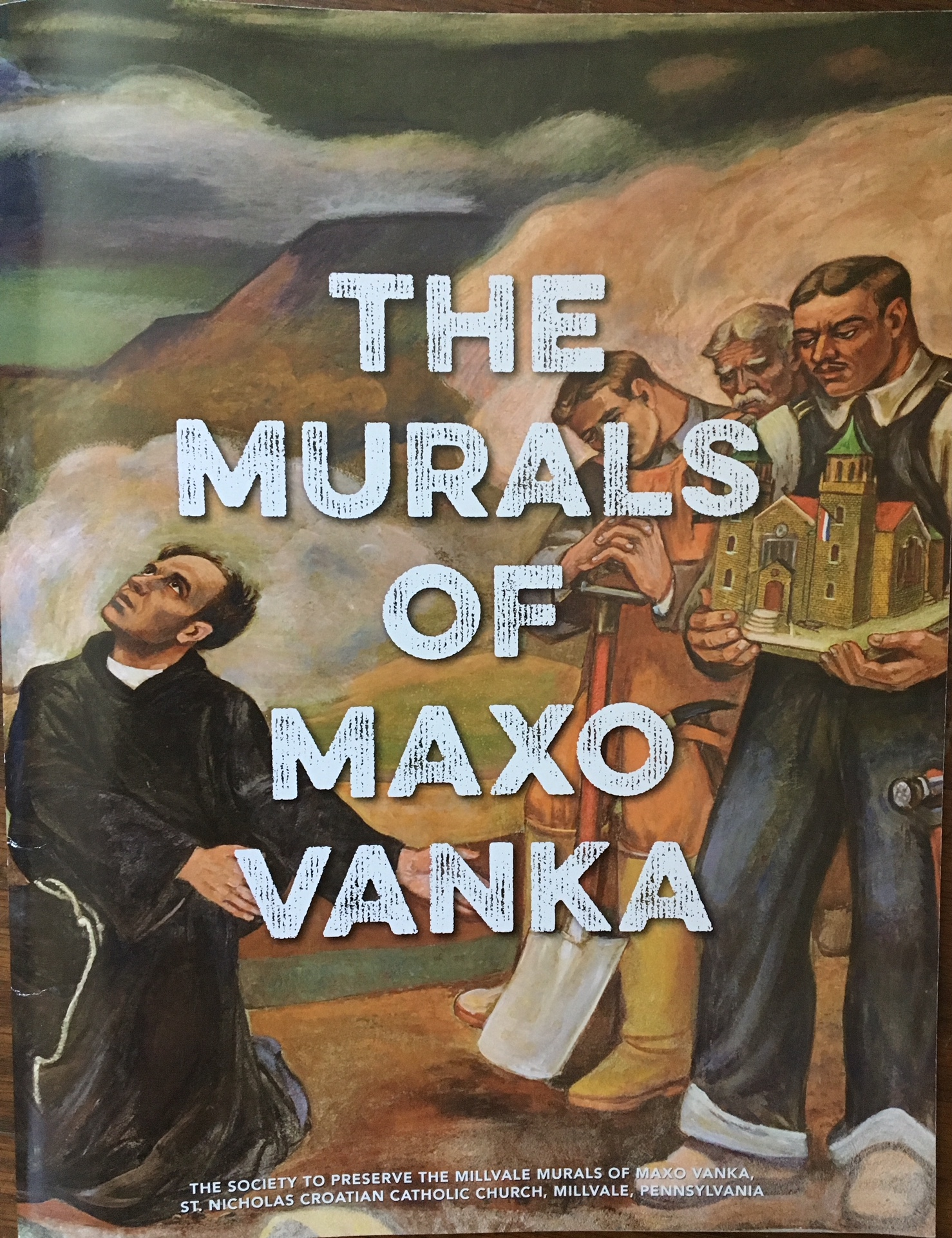 The Murals of Maxo Vanka catalog