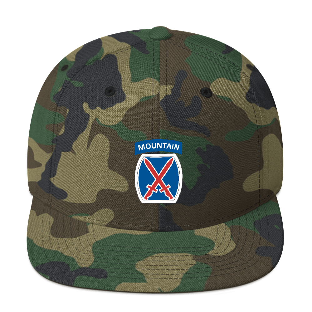 10th Mountain Snapback (19-Colors)