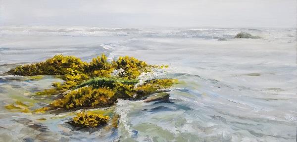 Tidal Garden Oil Painting