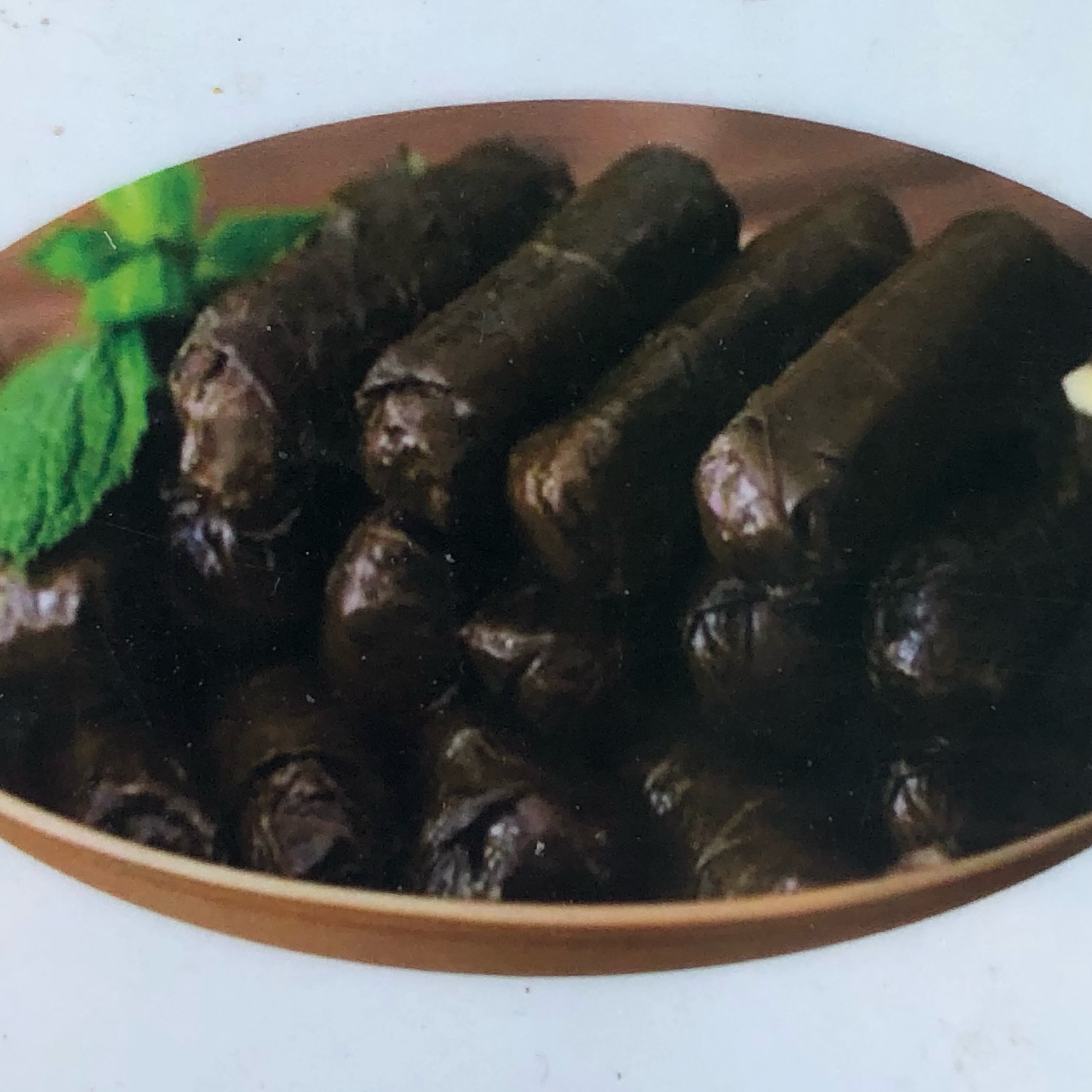 Stuffed Grape Leaves [Gluten-free Vegan Soy-free]