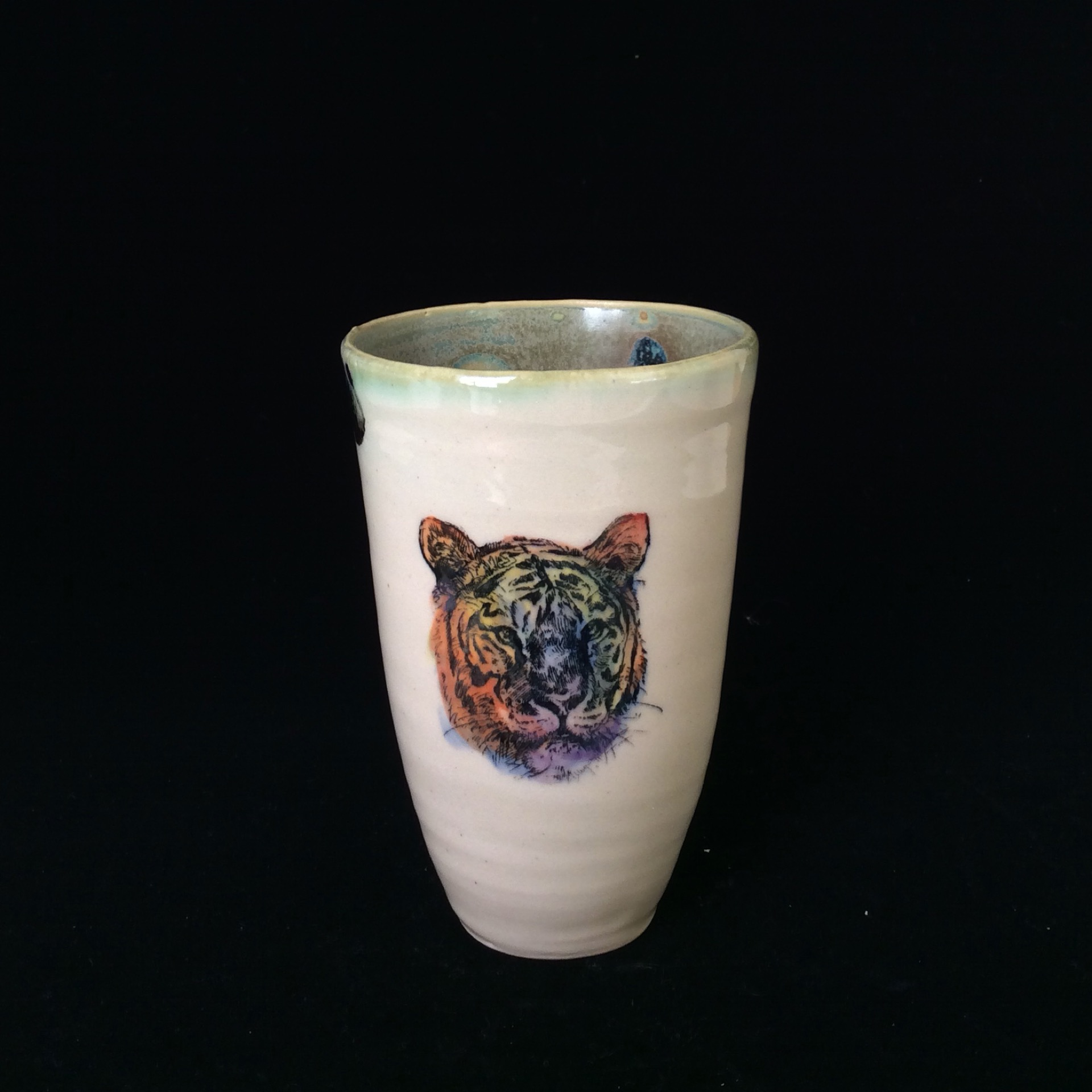 Tiger Face Cup