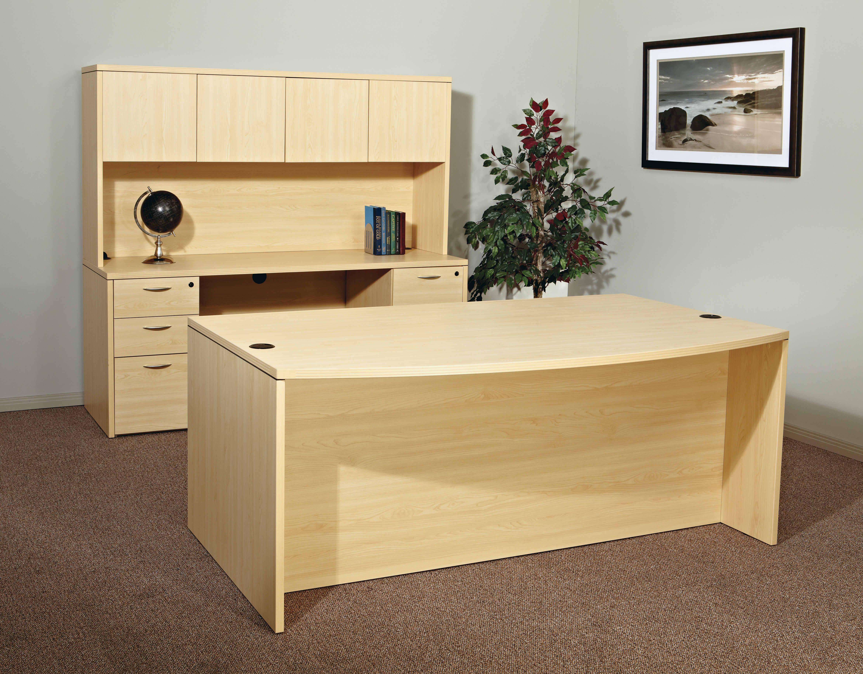 Napa Executive Desk Set Maple