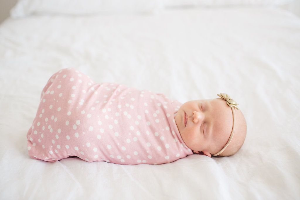 lucy knit swaddle
