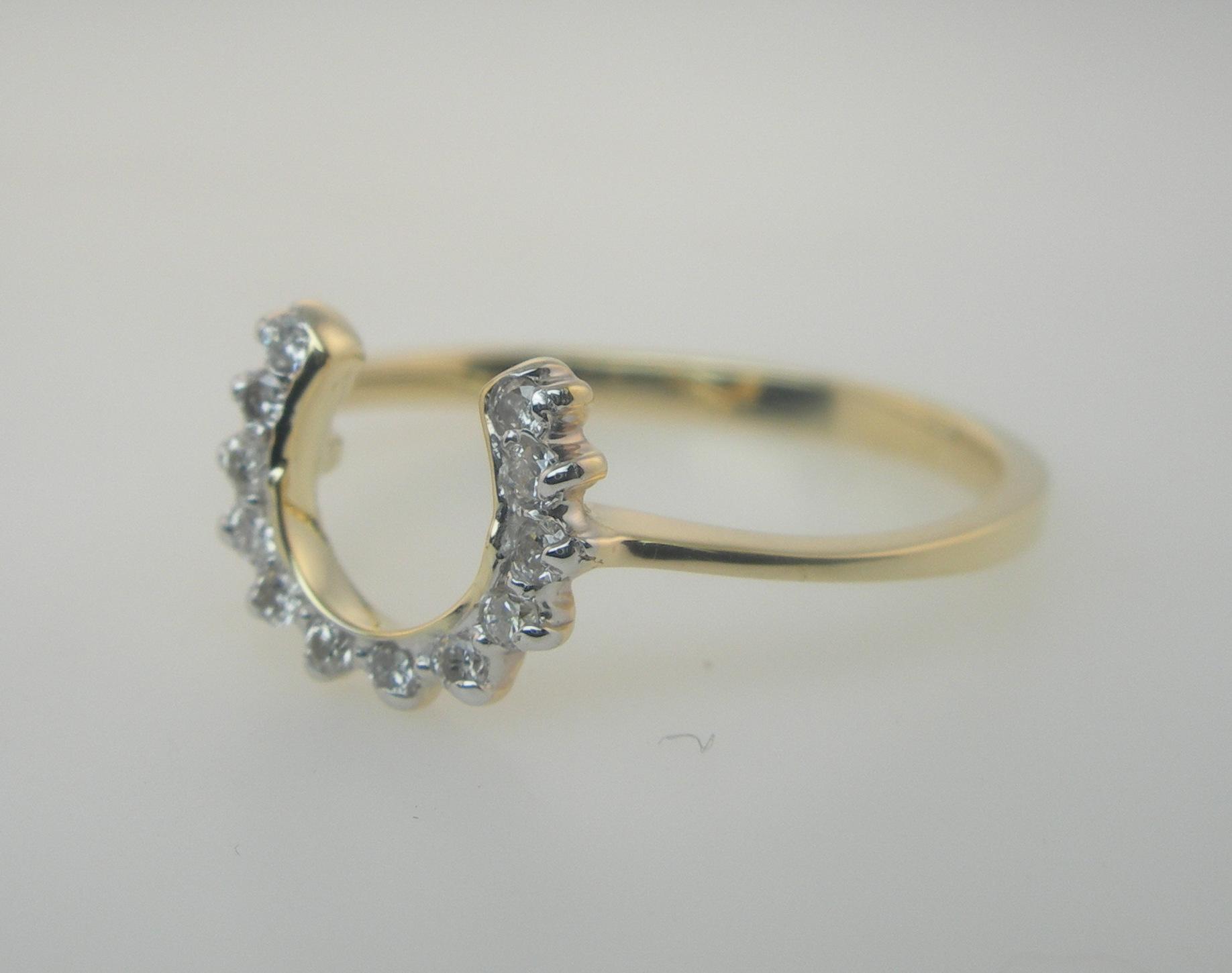 Diamond Ring Yellow Gold