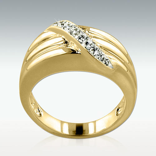 Path To Heaven 14k Gold Vermeil Cremation Ring