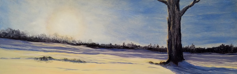Winter Soul Oil Painting