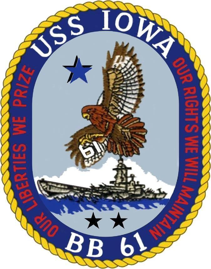 Sticker - IOWA Crest
