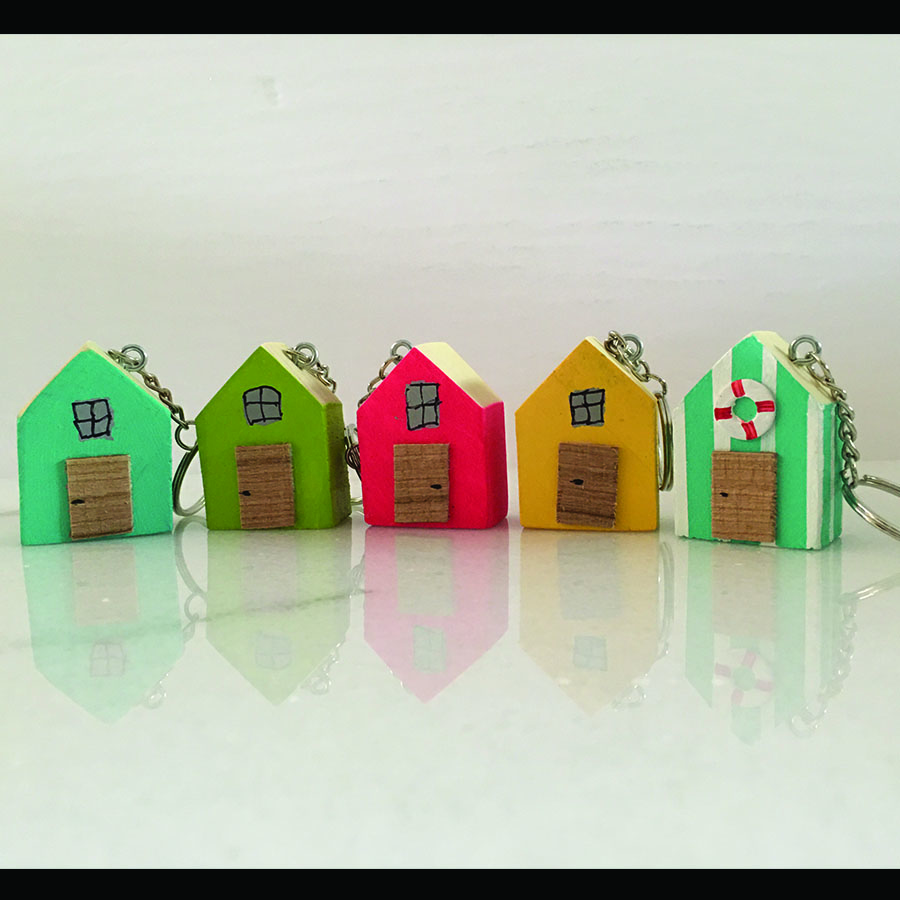 Little House Key Chain