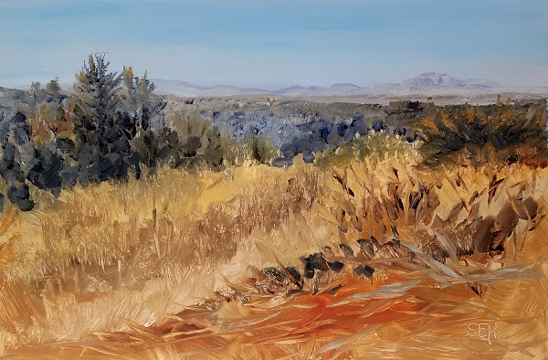 Clear Cut View Oil Painting