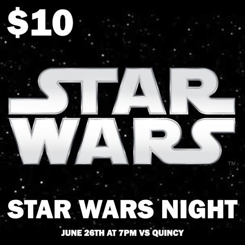 Star Wars Night Ticket