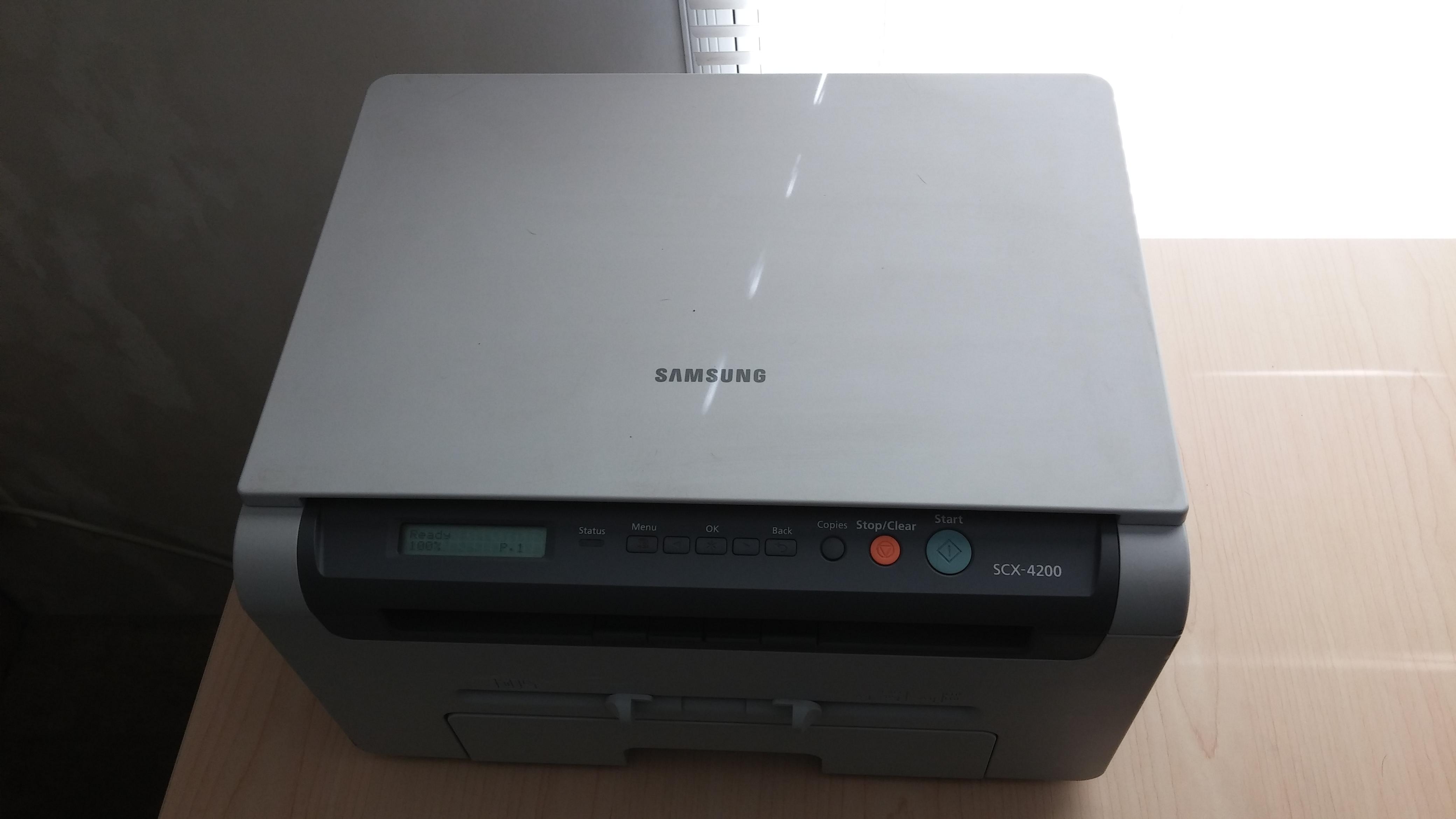 samsung printer copier scx 4200. Black Bedroom Furniture Sets. Home Design Ideas