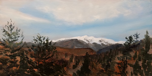 Mt. Washington Oil Painting