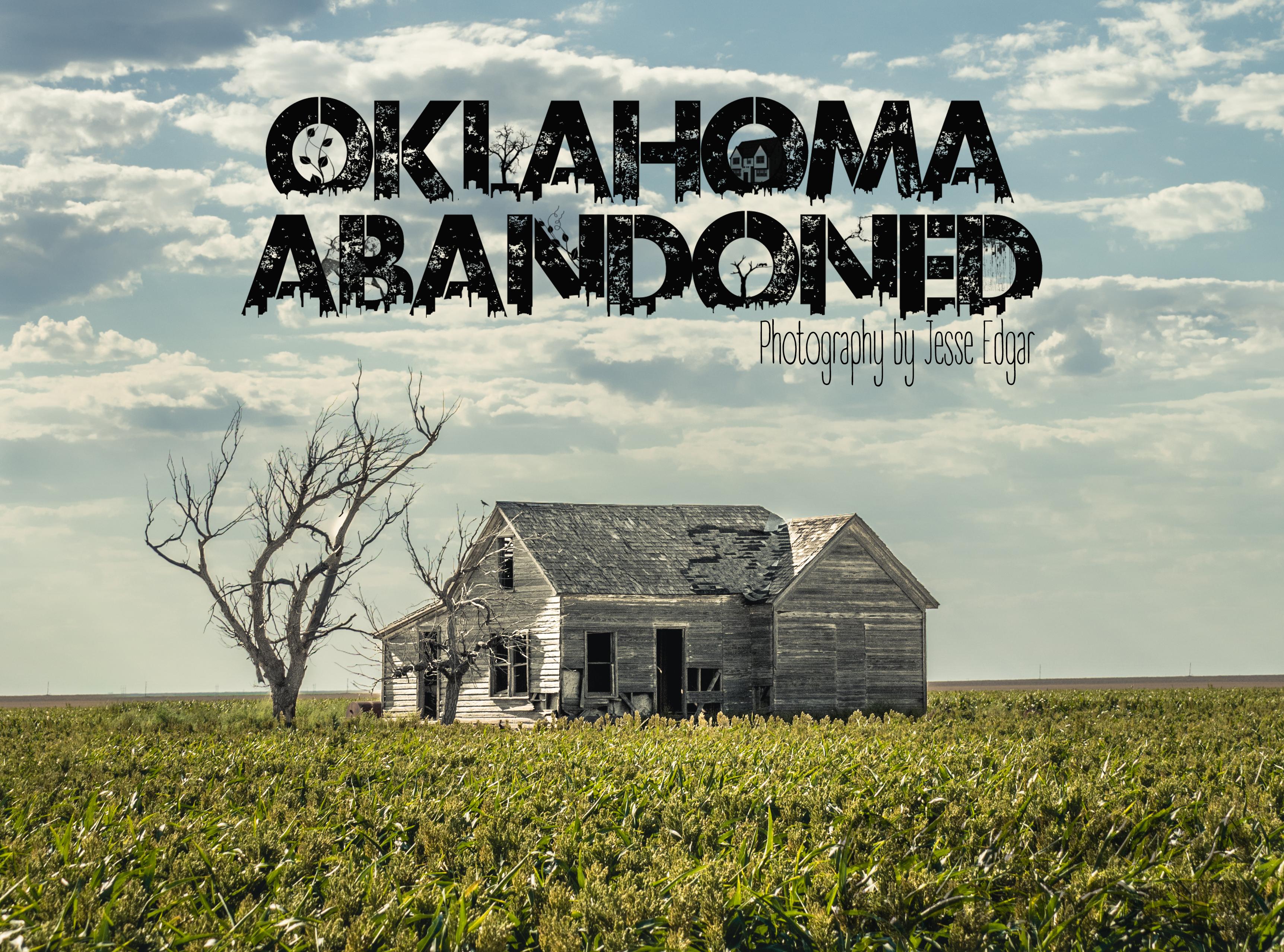 Oklahoma Abandoned 2020 XL Photo Calendar
