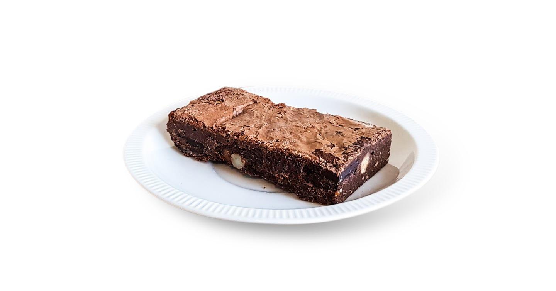 Chocolate Macadamia Fudge Bar GF