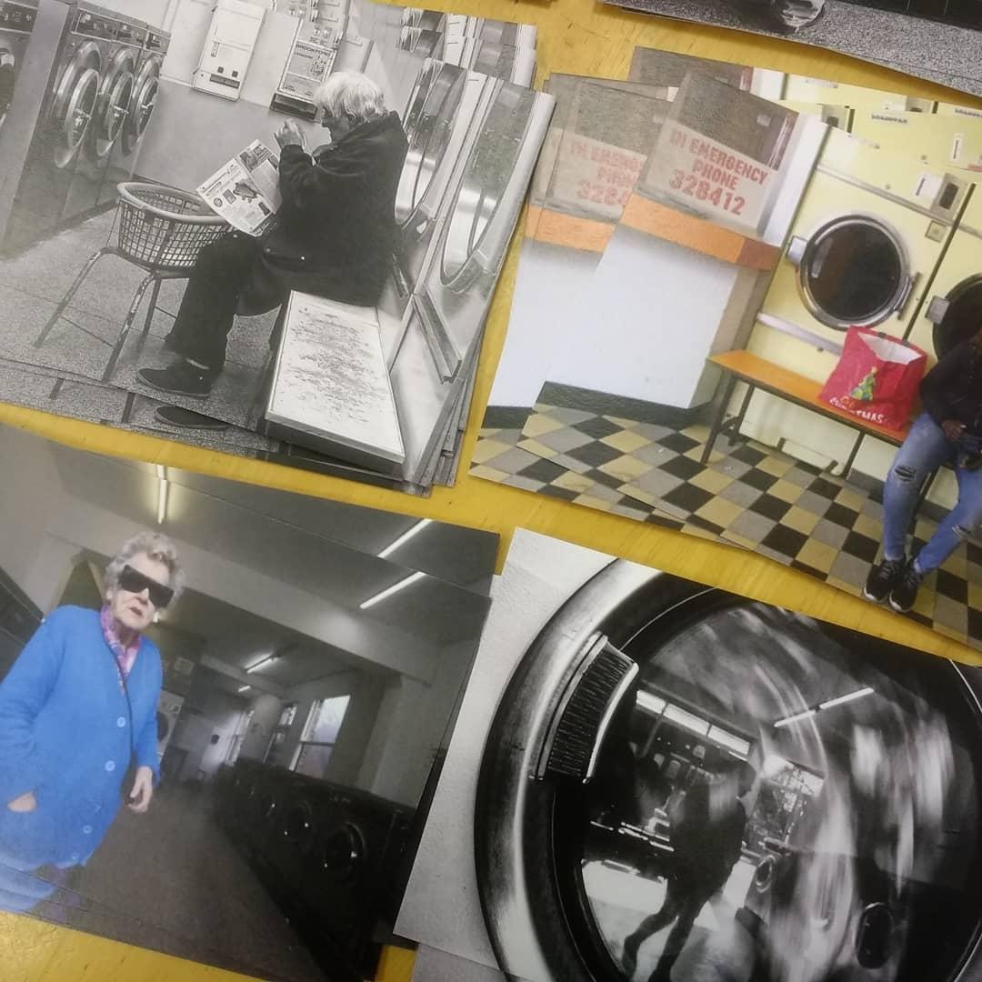David Drasdo Launderama Postcards