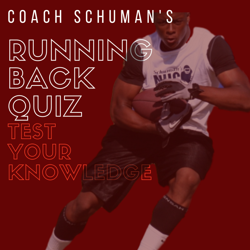 The Running Back Quiz by Coach Schuman