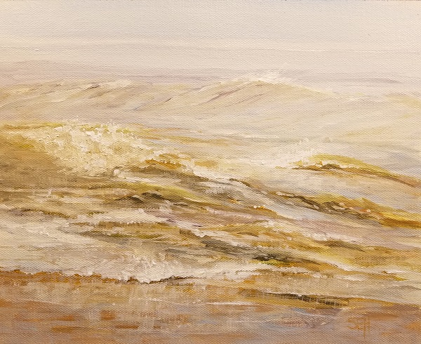 Atlantic Monday AM Acrylic Painting