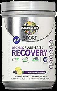 SPORT Organic Plant-Based Recovery Blackberry Lemonade
