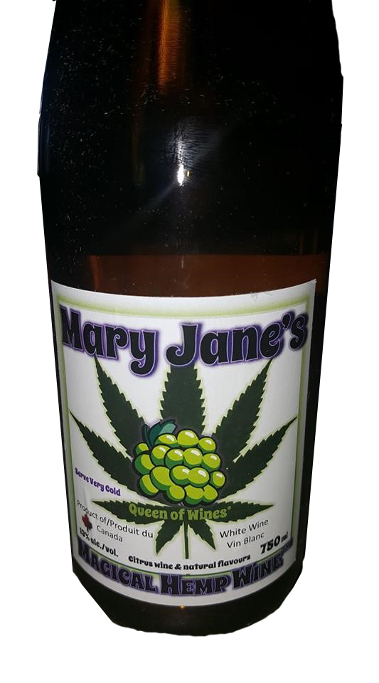 Mary Jane HEMP Wine