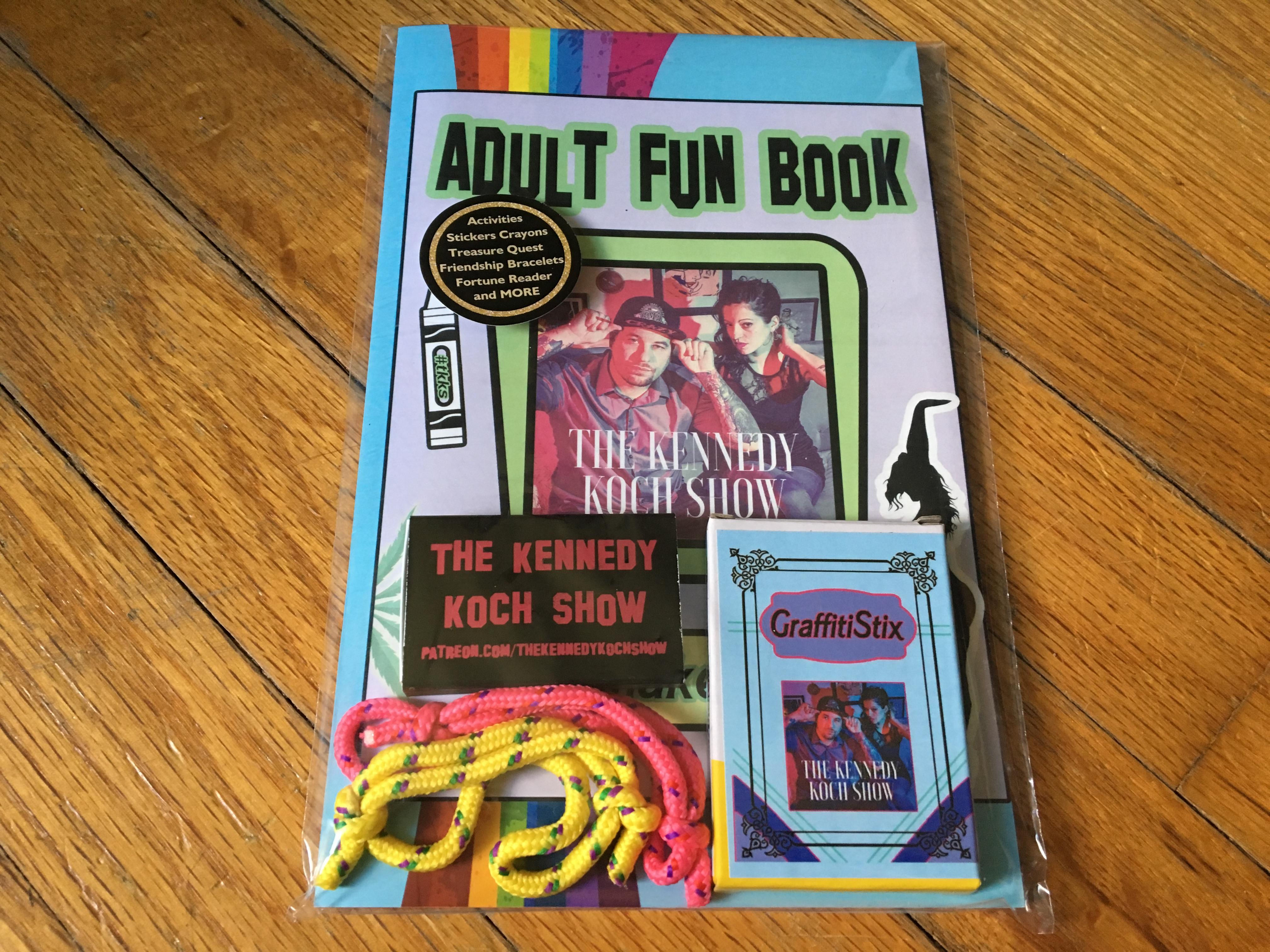 TKKS Adult Fun Book