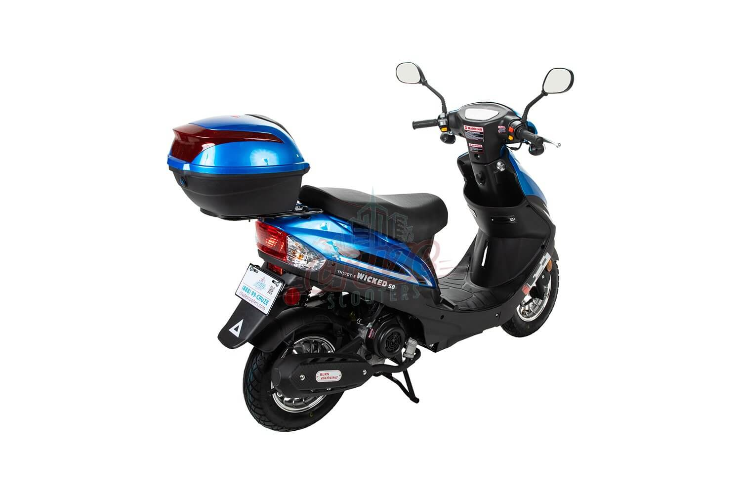 Cruze Wicked 50 Scooter Moped Online Sale