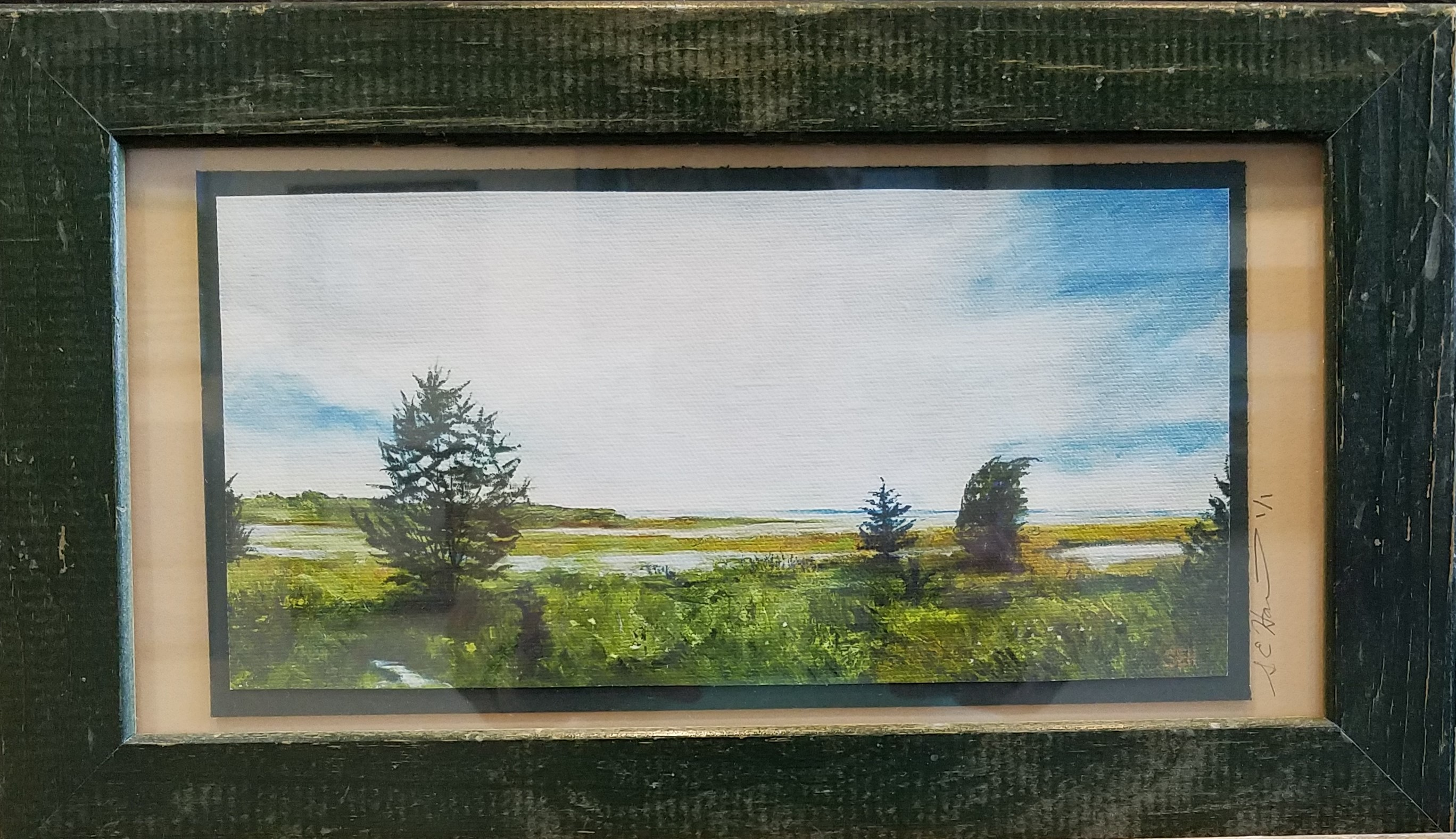 Tidal Plains Limited Edition Giclee Canvas Print