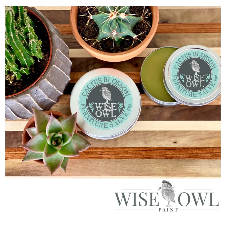 Wise Owl Furniture Salve - Cactus Blossom