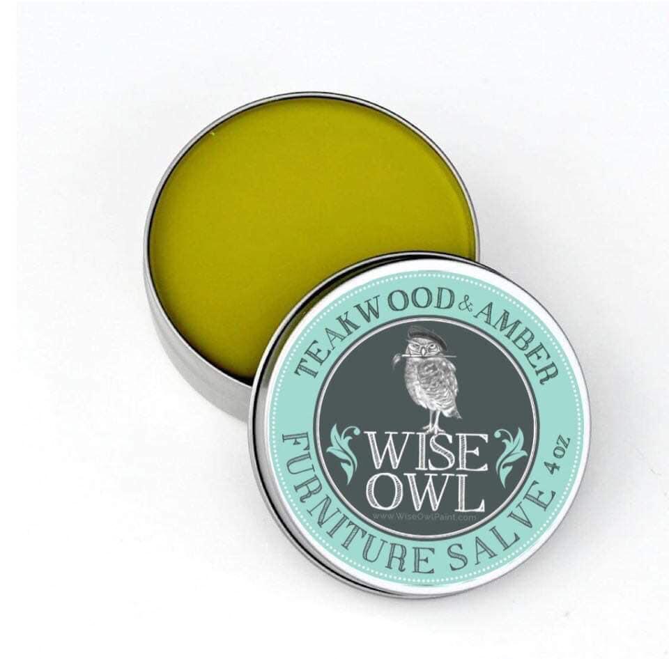 Wise Owl Furniture Salve - Teakwood & Amber