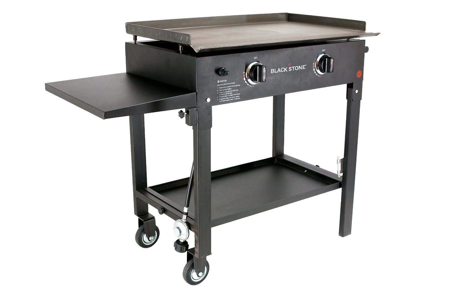 Outdoor Gas Griddle Blackstone ~ Blackstone inch outdoor cooking gas grill griddle station