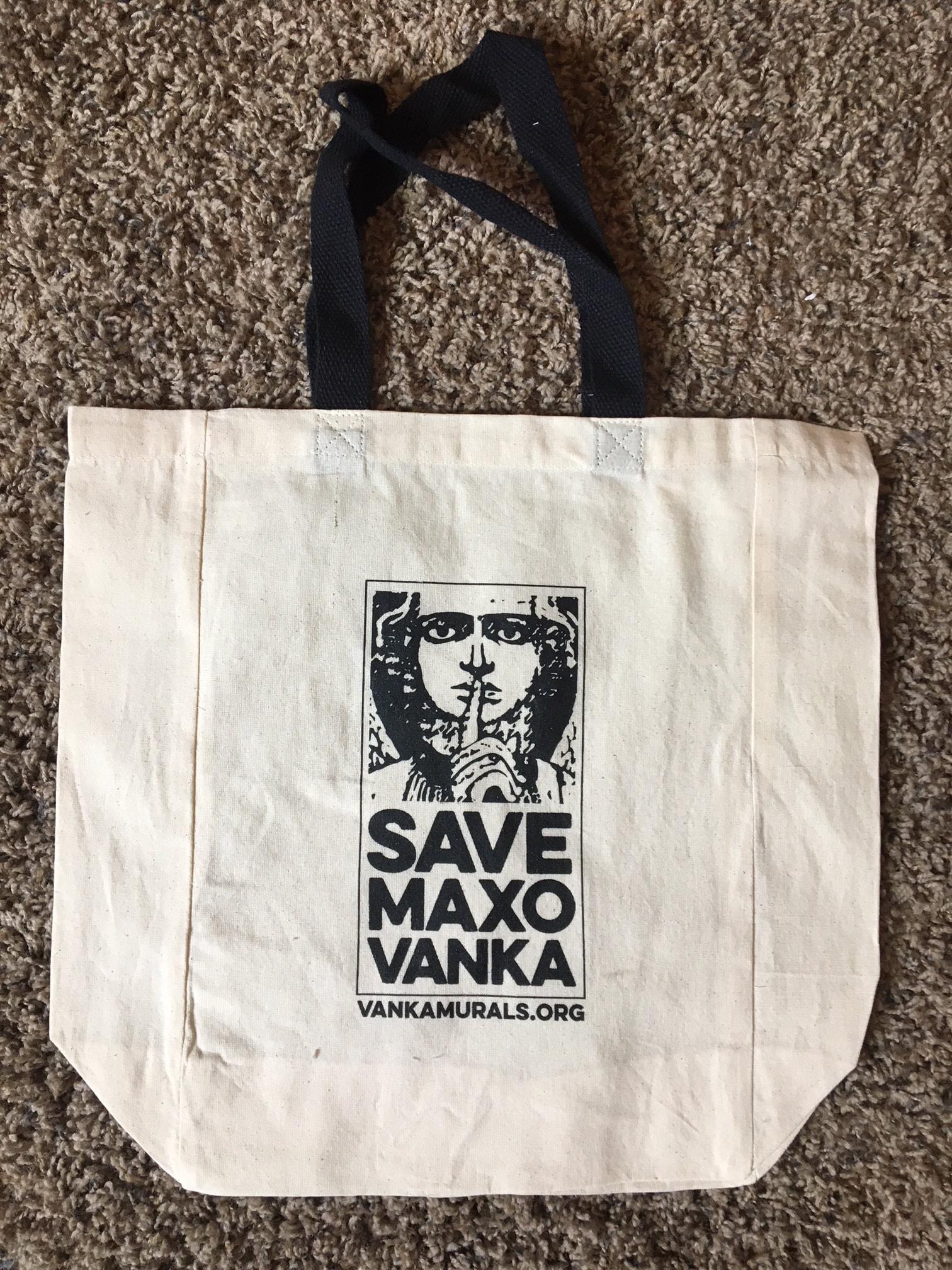 Save Maxo Vanka Tote Bag