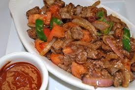 Beef Tibs from Tadu Ethiopian Kitchen