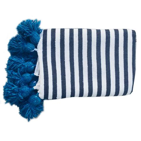 Moroccan Throw, Blue