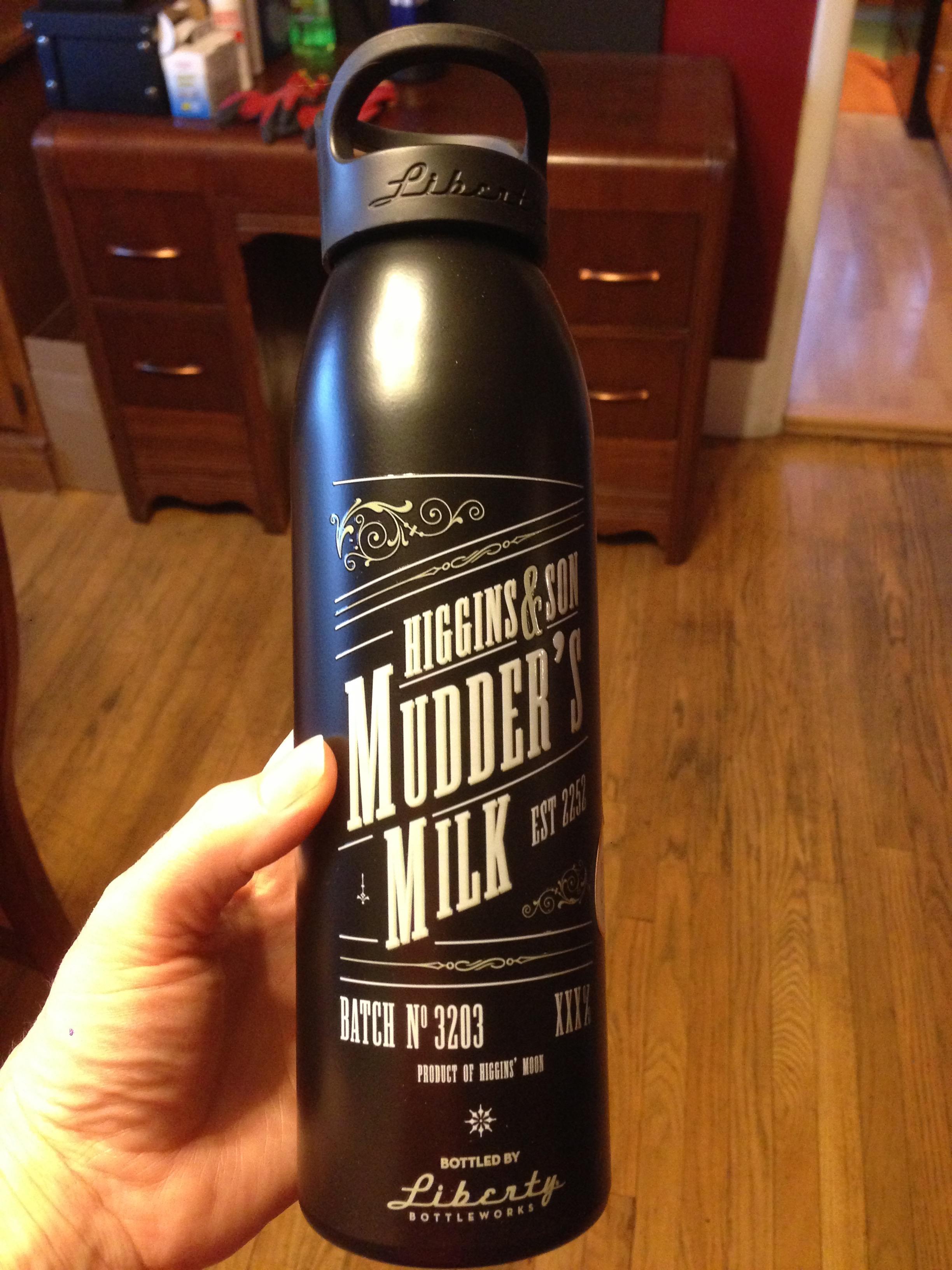 Mudder's Milk bottle