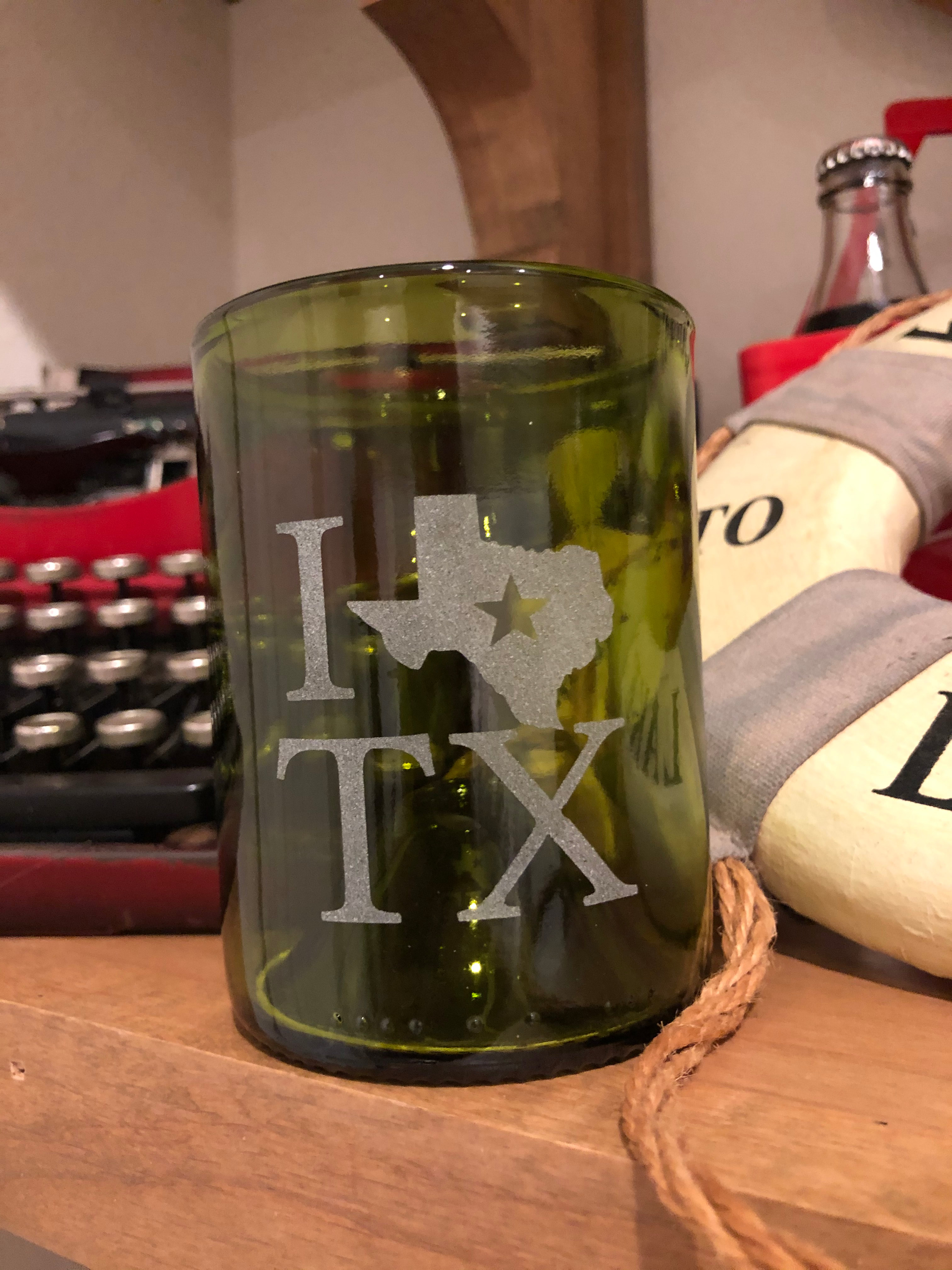12 oz I Love TX