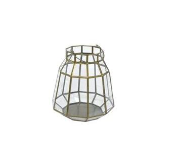 Geometric Glass Lantern, Small