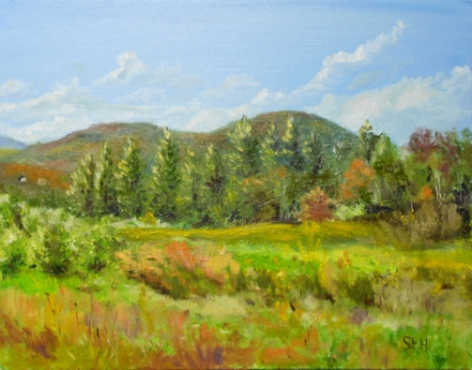 Mt. Kearsage from Boscawen Oil Painting