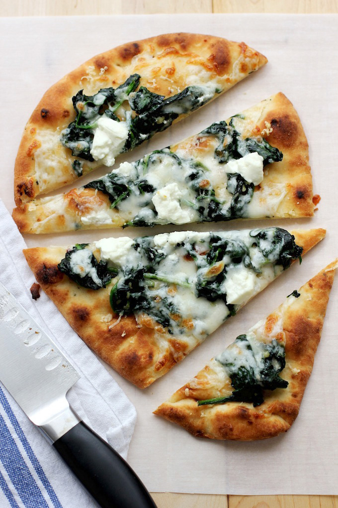 Flatbread Onion & Goat Cheese