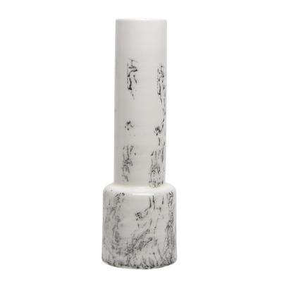 Ceramic Marbled Vase