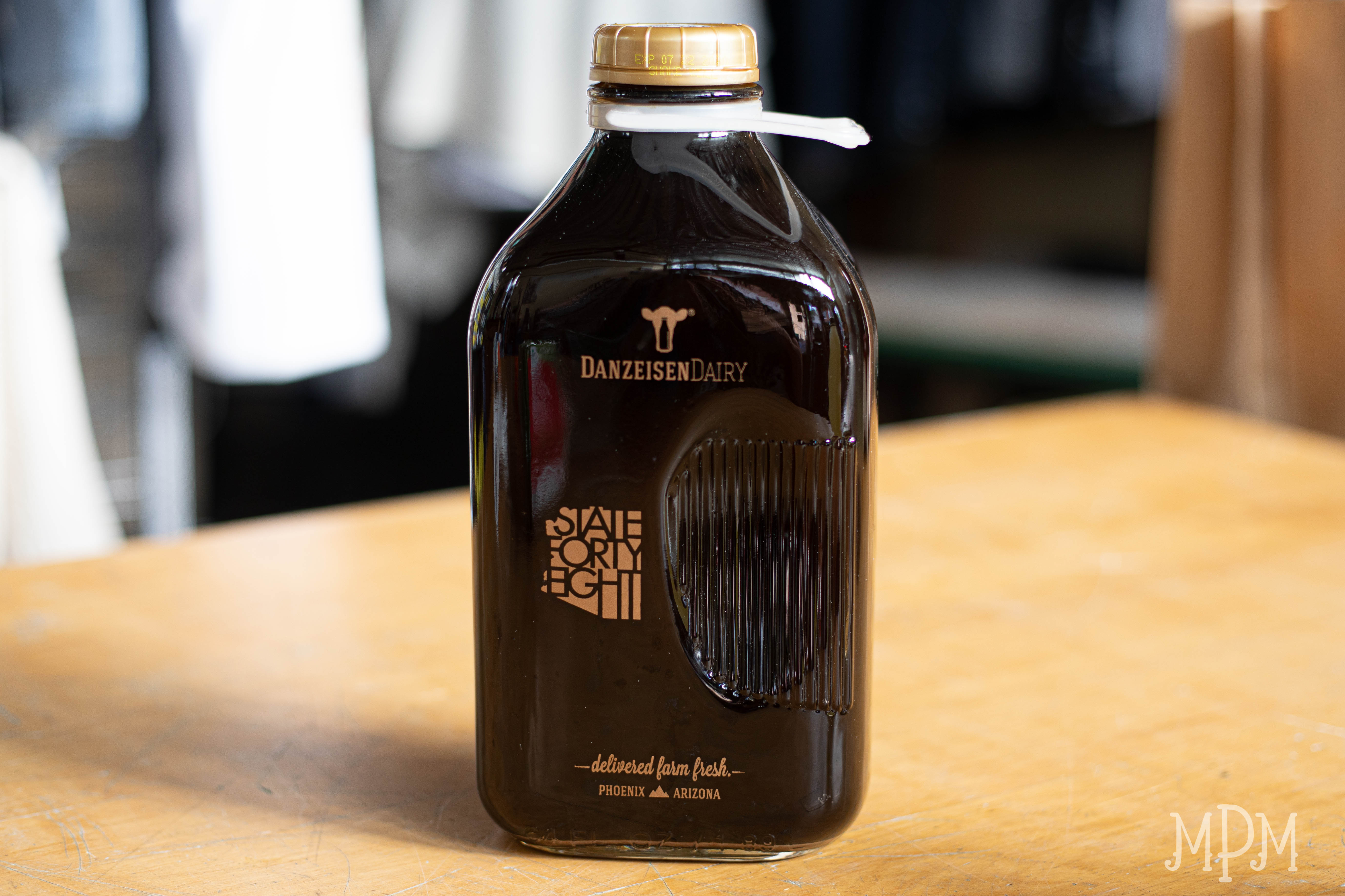 Half-Gallon Plain Cold Brew Coffee (Unsweetened) - Danzeisen