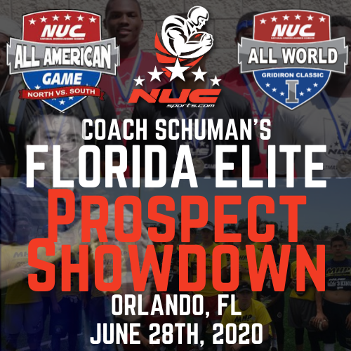 Coach Schuman's Florida Elite Prospect Showdown, June 28th, 2020 Orlando, FL